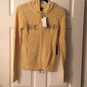 NWT BCBG Buttercream Hooded Jacket
